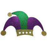 Jester Glitter Wall Plaque