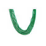 "33"" 7mm Global Beads Green"