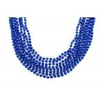 "33"" 7mm Global Beads Blue"