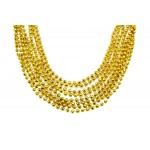 """33"""" 7mm Global Beads Gold"""