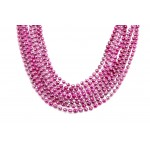"33"" 7mm Global Beads Light Pink"
