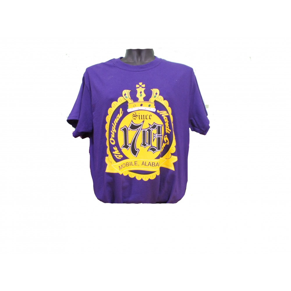 1703 Short Sleeve Purple T SHIRT