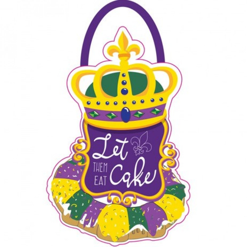King Cake House Flag