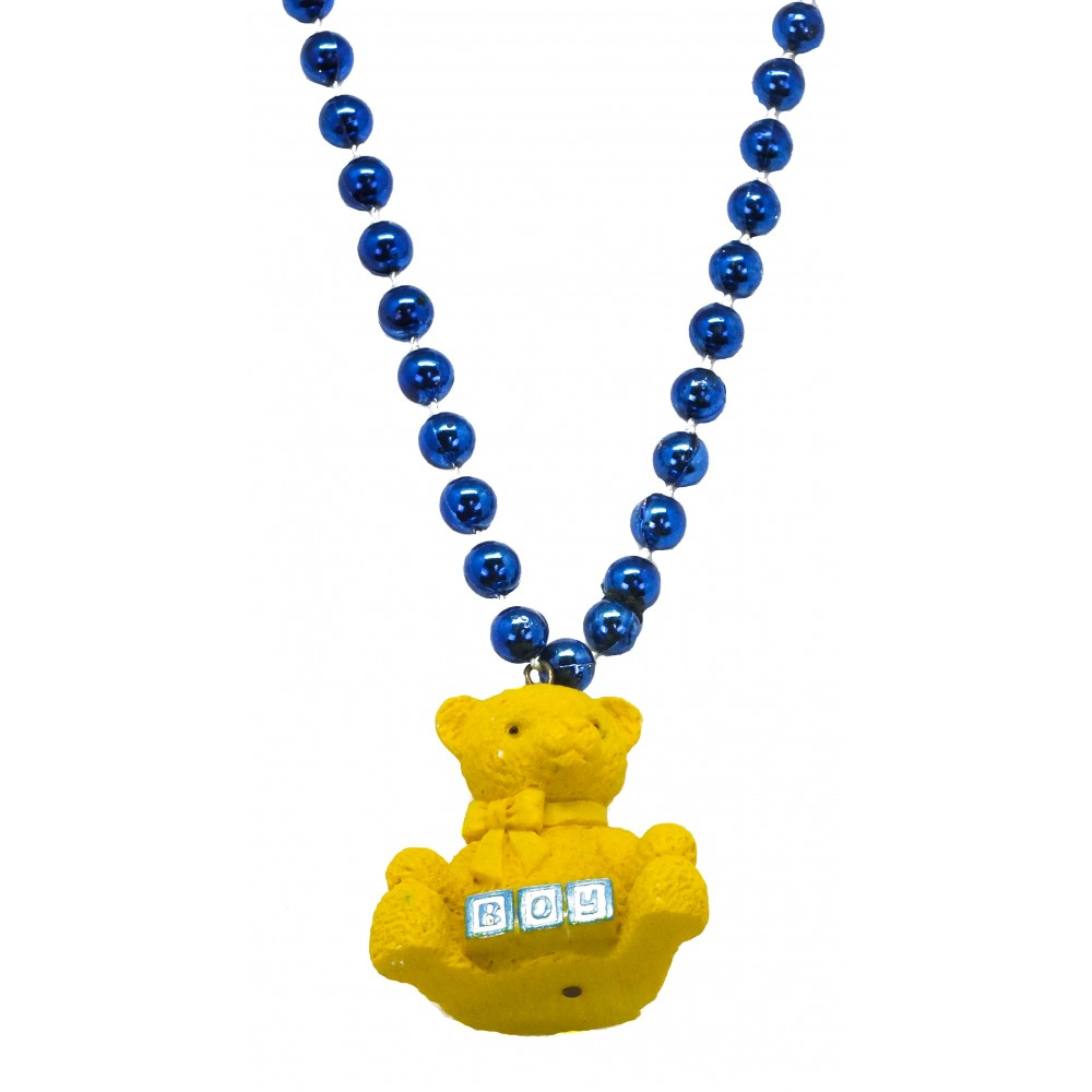 "33"" Boy Teddy Bear Bead"