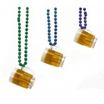 """33"""" Assorted Color Beads with Beer Mugs"""