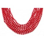 """33"""" 7mm Global Beads Red"""