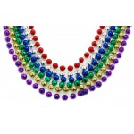 """33"""" 10mm Round Assorted Color Beads"""