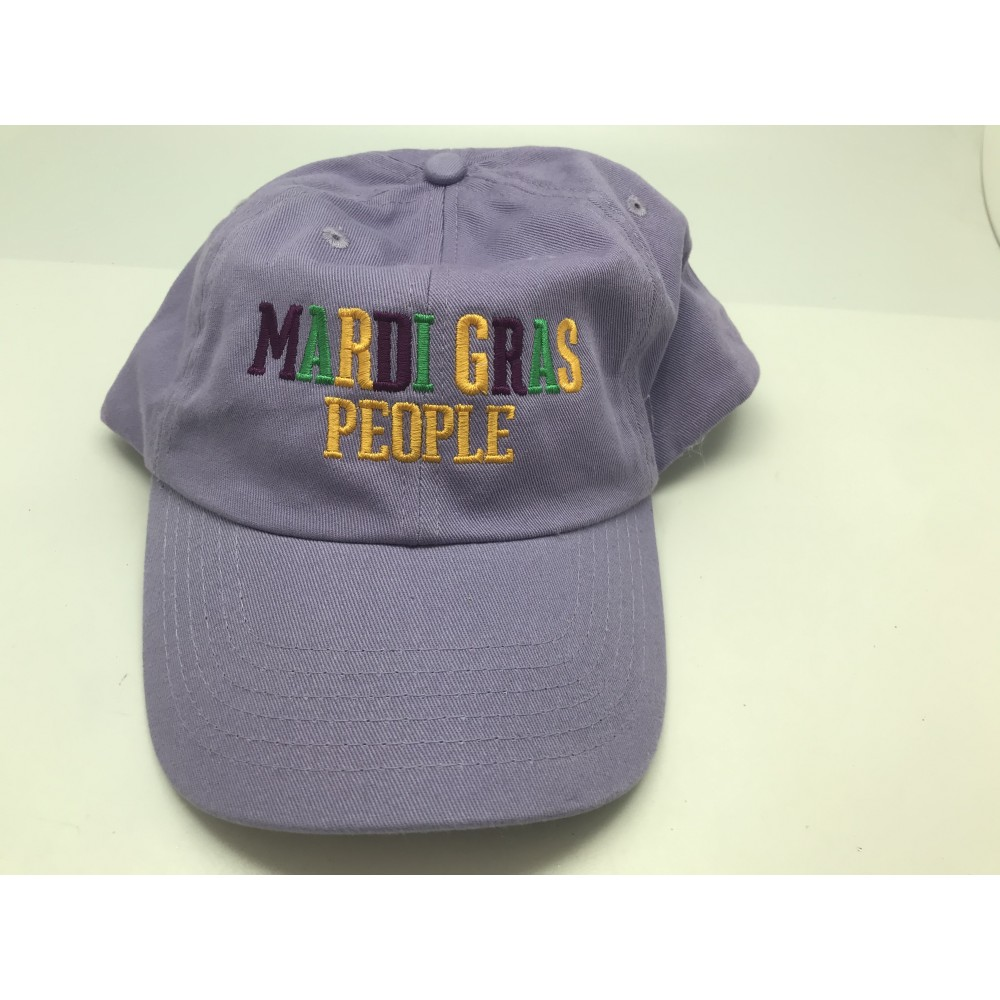 MARDI GRAS PEOPLE BALL CAP