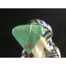 Gold & Blue Pharoah Hat