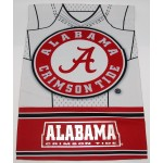 """29""""x43"""" Alabama Two-Sided Suede Foil Flag"""