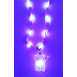 "30"" LED Light Up Ghost Lanyard"