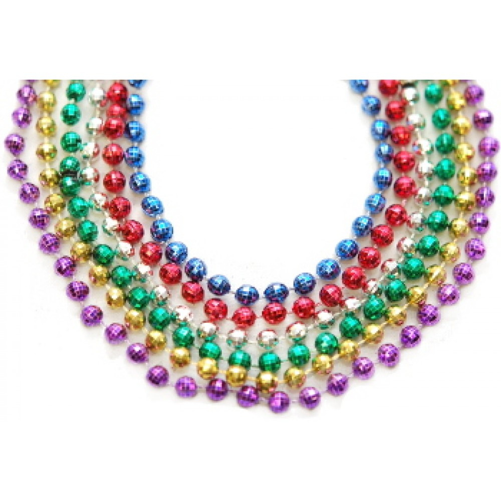 "33"" 7mm Global Beads Assorted Colors"
