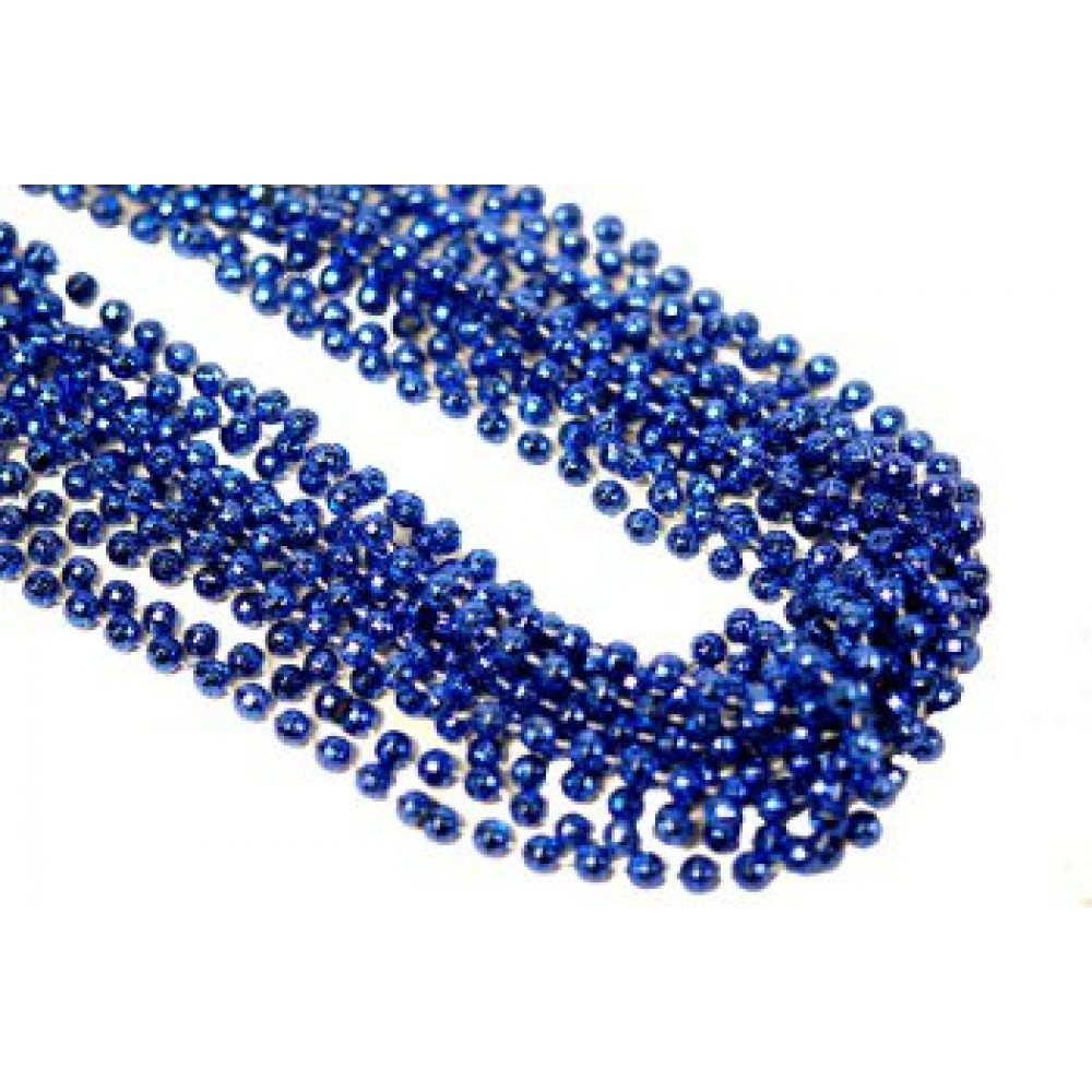 "33"" 7mm Global Beads Blue"