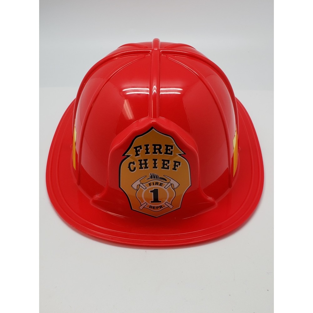 Red Fire Chief Hat
