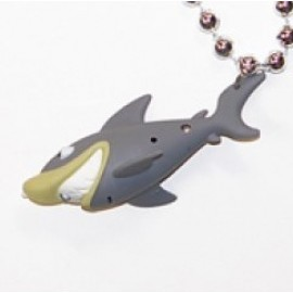 "33"" Silver Bead with Light Up Shark and Sound"