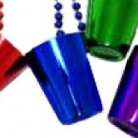 "33"" Assorted Color Shot Glass Bead"