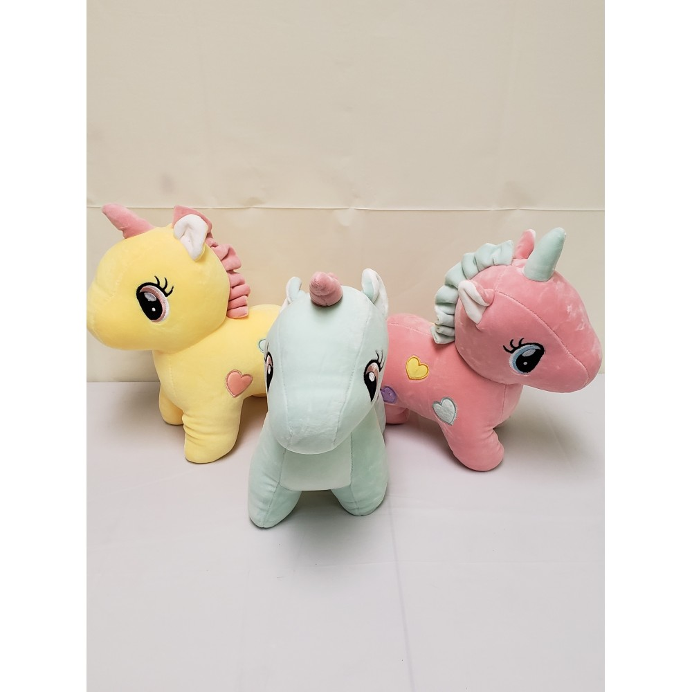 "12"" Plush Unicorn"