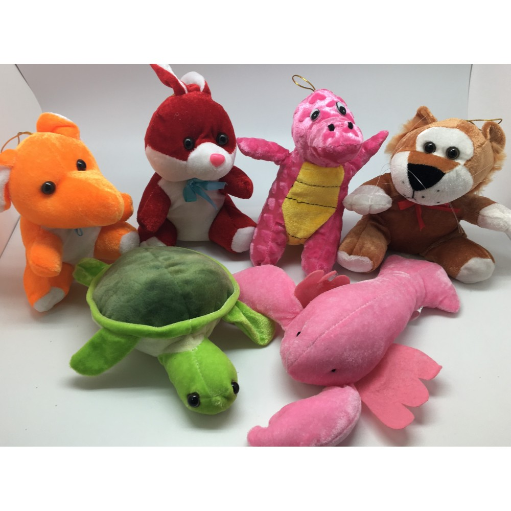 24 piece plush stuffed animal mix