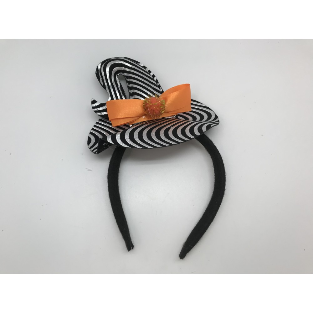 Striped Witch Headband