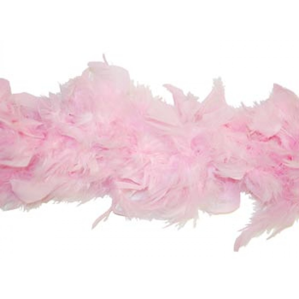 6' Light Pink Feather Boa