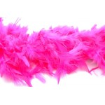 6' Hot Pink Feather Boa