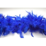 6' Blue Feather Boa