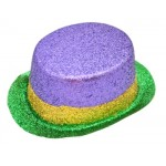 Mardi Gras Top Hat Purple, Green and Gold