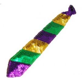 Mardi Gras Sequin Tie - PGG