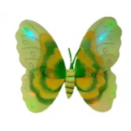 Green Light Up Butterfly Wings