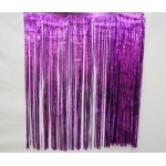 "29"" x 14' Purple Fringe Skirting"