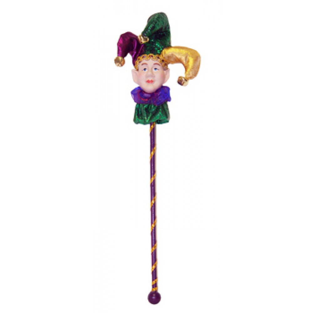 """13.5"""" Jester Pick Purple and Green"""