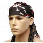 Pirate Bandana with Wig