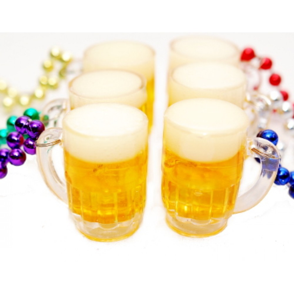 "33"" Assorted Color Beads with Beer Mugs"
