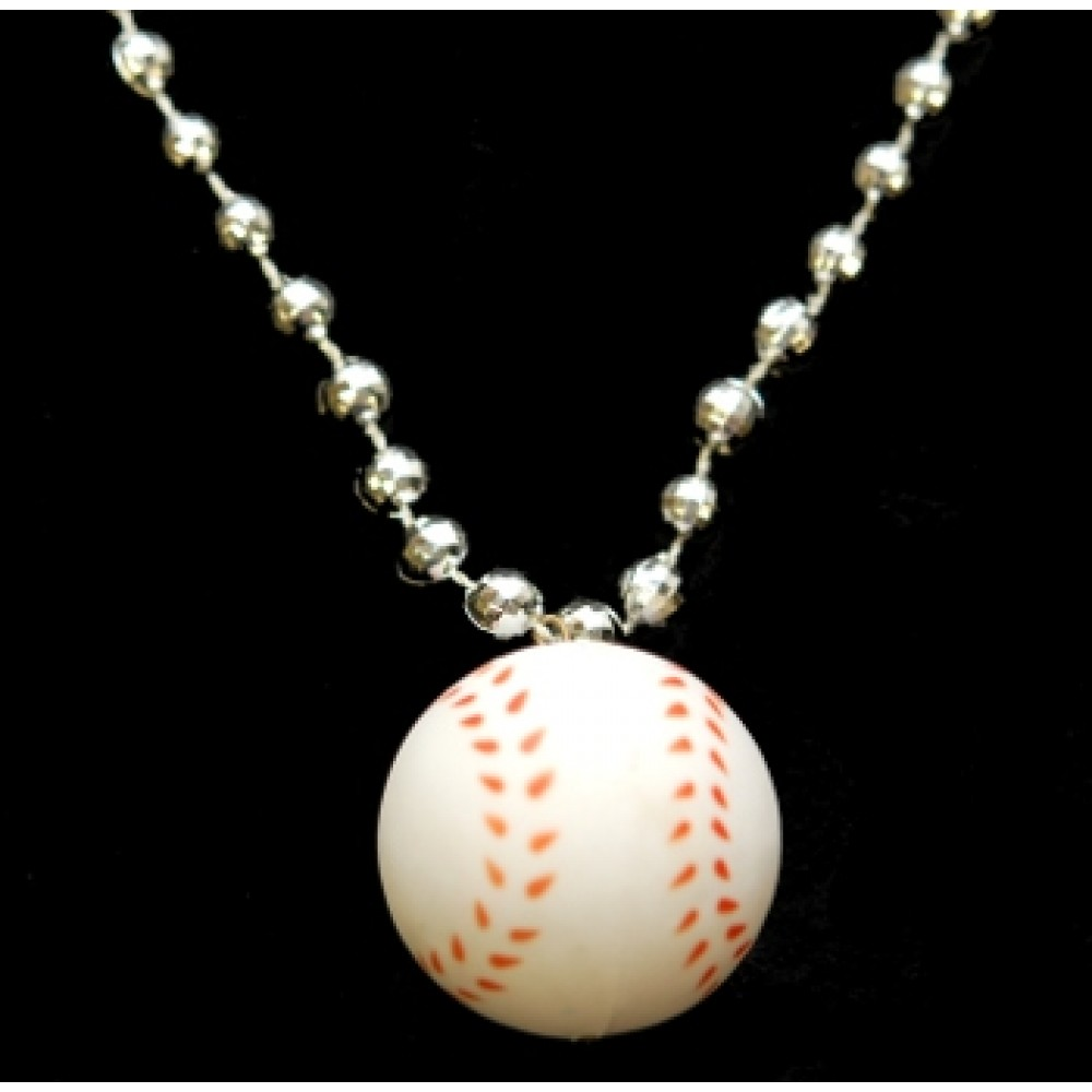 """33"""" Baseball with Silver Beads"""
