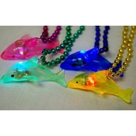 "33"" Light Up Dolphin Bead"