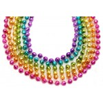 """33"""" 7mm Global Beads Assorted Neon Colors"""