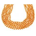 "33"" 7mm Global Beads Orange"