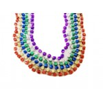 """33"""" 6.5mm Dice Beads Assorted Colors"""