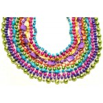 """40"""" Mixed Beads Assorted Neon Colors"""