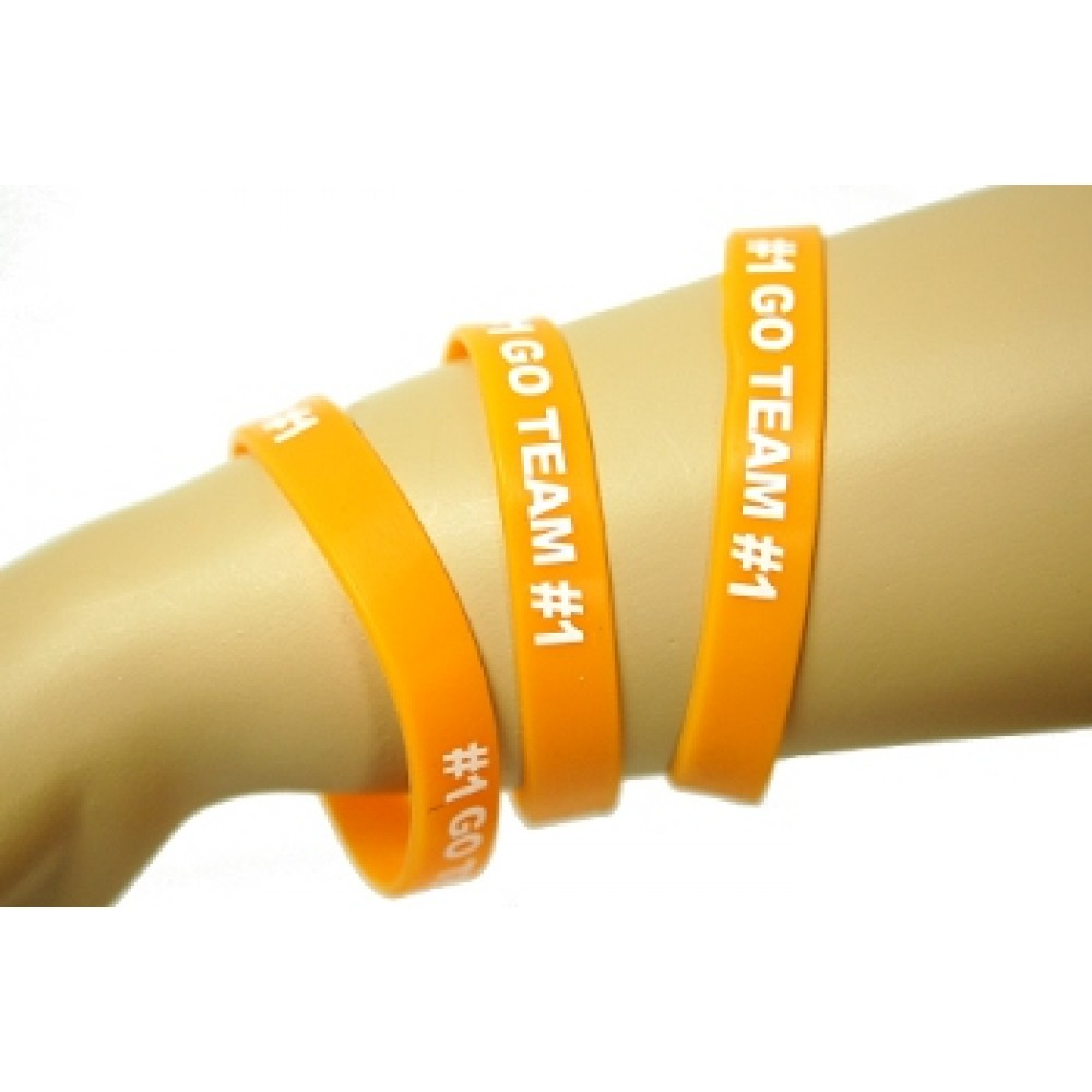 Go Team Bracelets Orange