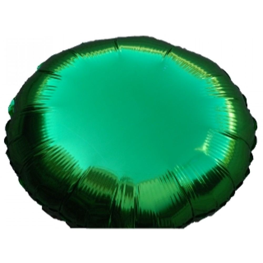 "18"" Green Foil Balloon Great for party decorations"