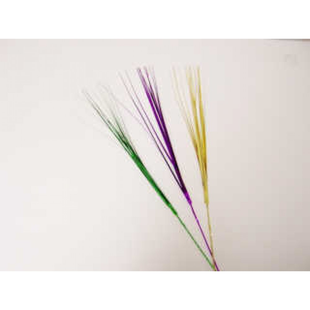 "21"" Onion Grass Purple, Green and Gold"