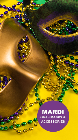 Shop Mardi Gras Masks & Accessories