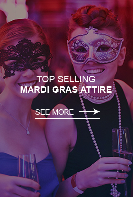 Shop Mardi Gras Apparel