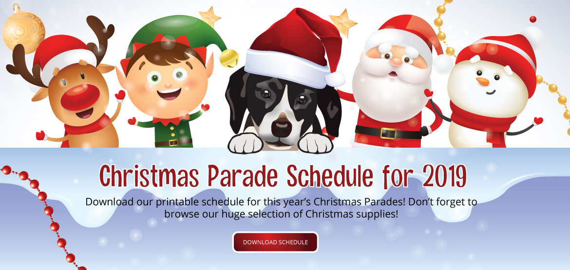 2019 Mardi Gras Christmas Parade Schedule Mobile, AL